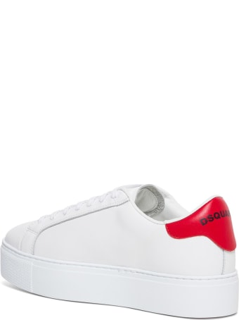 Dsquared2 Icon Leather Sneakers