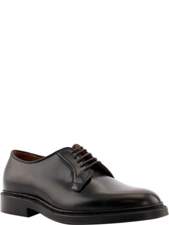 Alden Alden Men's 9901 - Plain Toe Blucher - Black Shell Cordovan