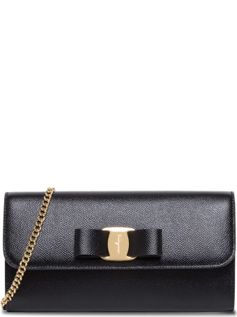 Salvatore Ferragamo Vara Shoulder Bag In Leather