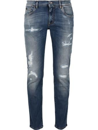 Dolce & Gabbana Slim Fit Jeans