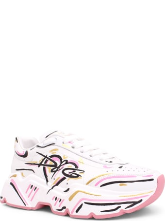 Dolce & Gabbana 'daymaster' Leather Sneakers