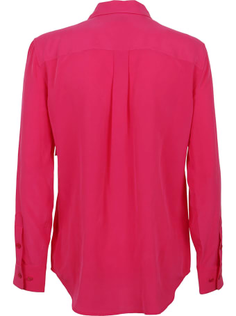 Equipment -slim Signature Women Shirt Long Sleeves