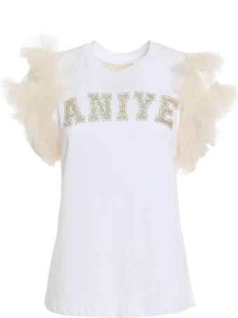 aniye by Silky T-shirt Logo