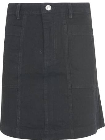 A.P.C. Buttoned Short-length Skirt