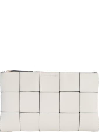 Liviana Conti Woven Clutch Bag