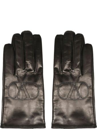 Valentino Garavani Vlogo Signature Gloves