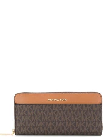 MICHAEL Michael Kors Continental Logoed Wallet