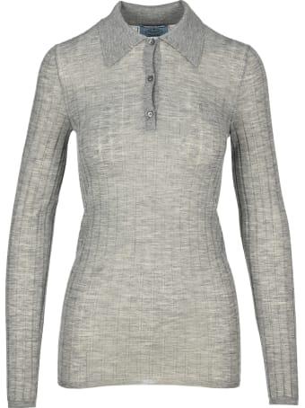 Prada Knit Polo Shirt
