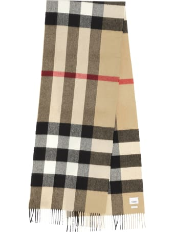 Burberry 'half Meg Check Archive' Scarf