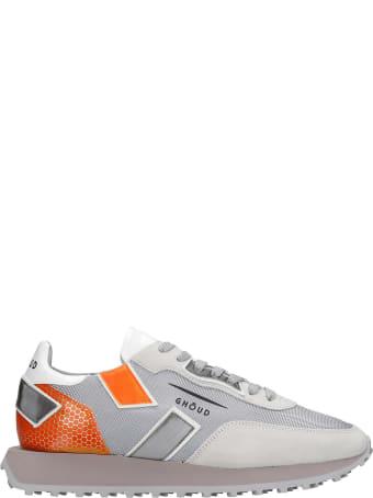 GHOUD Rush Sneakers In Grey Synthetic Fibers