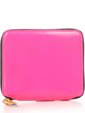 Comme des Garçons Wallet Wallet Medium Super Fluo Leather Line