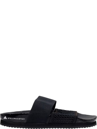 Adidas by Stella McCartney Asmc Lette Flats In Black Synthetic Fibers