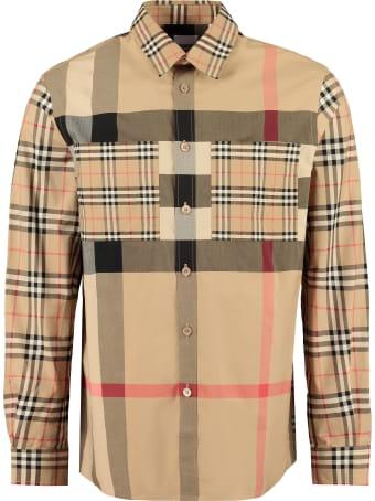 Burberry Stretch Poplin Shirt