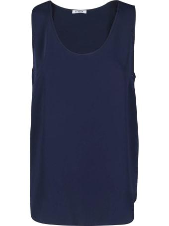 Parosh Blue Loose Fit Top
