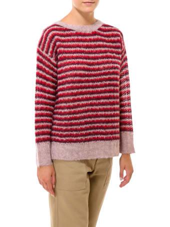 Theory Alpaca Stripe Sweater