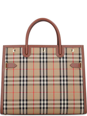 Burberry Title Medium Tote Bag