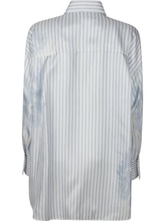 Ermanno Scervino Oversize Striped Shirt