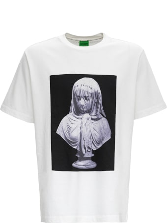 Trussardi Oversized Cotton T-shirt With Print