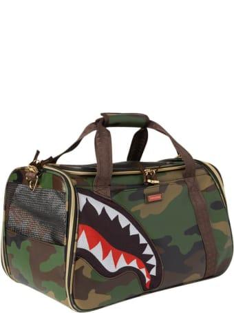Sprayground Camo Shark Pet Carrier Bag