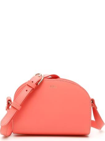 A.P.C. Demi Lune Crossbody Mini Bag