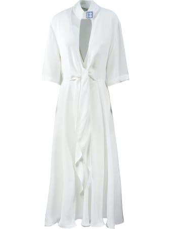 Off-White Long White Dress