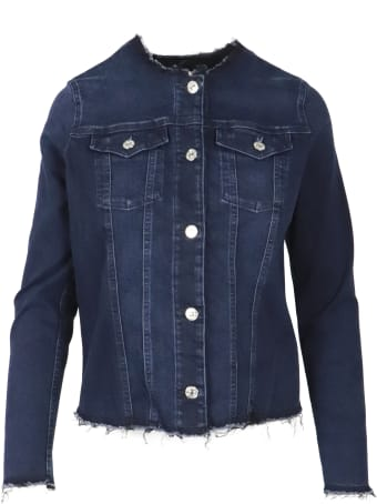 7 For All Mankind Denim  Blazer