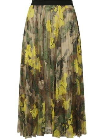 Ermanno Scervino Camo Printed Skirt