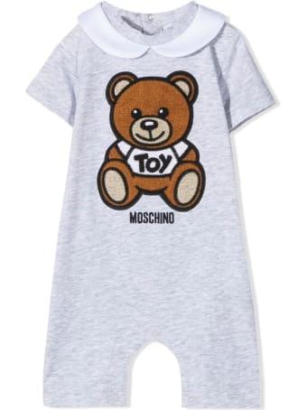 Moschino Teddy Shortsleeved Babygrow