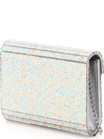 Jimmy Choo Candy Clutch Acrylic Glitter