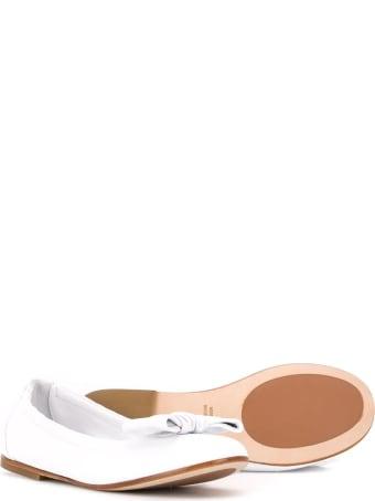 Montelpare Tradition Bow Detail Round-toe Ballerinas