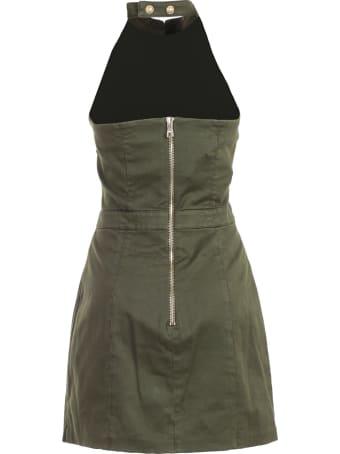 Balmain Dress W/s Short Halter Neck