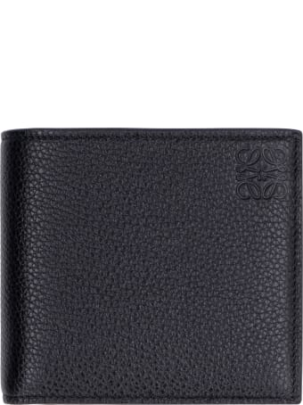 Loewe Leather Flap-over Wallet