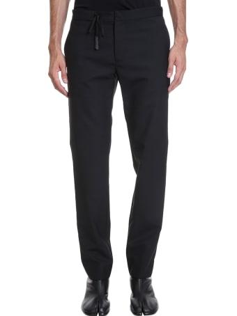 Maison Margiela Pants In Black Wool