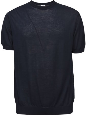 Malo Plain Ribbed T-shirt