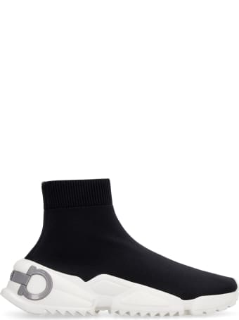 Salvatore Ferragamo Raquel Knitted Sock-sneakers