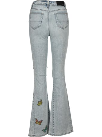 AMIRI Butterfly Flared Jeans