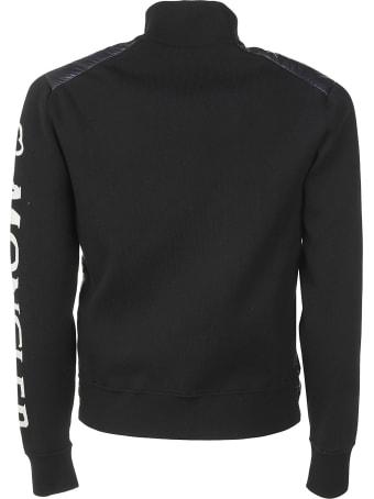 Moncler Logo-sleeved Standing Collar Padded Jacket