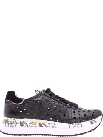 Premiata Conny 4729 Leather Sneakers