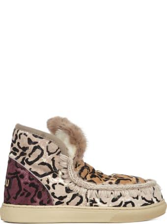 Mou Sneakers Eskimo Sneaker Ponyskin Mix Patchwork