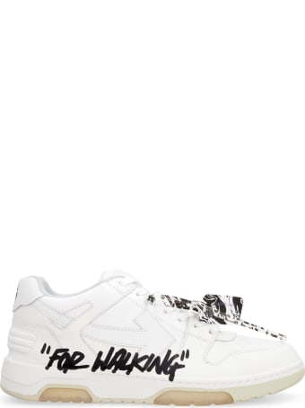 Off-White Out Of Office Leather Sneakers
