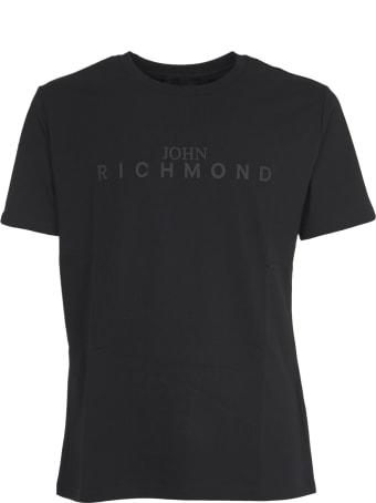 John Richmond Black T-shirt With Logo