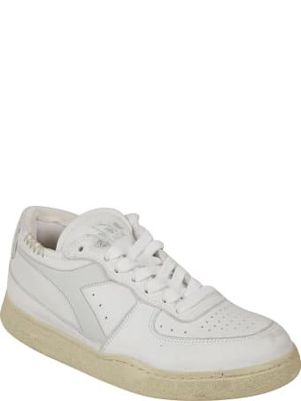 Diadora Heritage Mi Basket Row Cut Sneakers