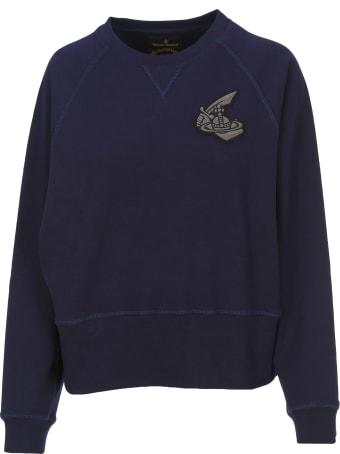 Vivienne Westwood Anglomania Anglomania Logo Patch Sweatshirt
