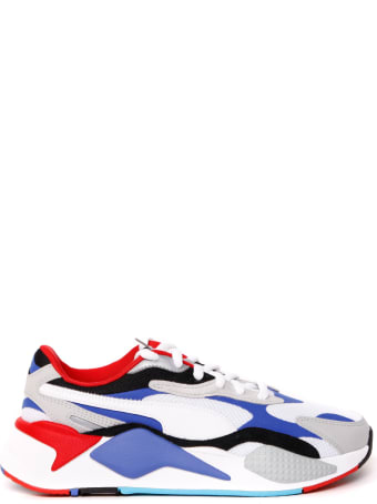 Puma Select Multicolor Rs-x Puzzle Leather & Nylon Sneaker