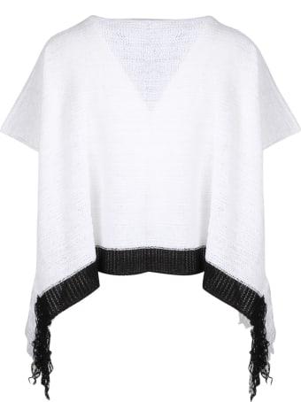 PierAntonioGaspari Cropped Fringes Sweater
