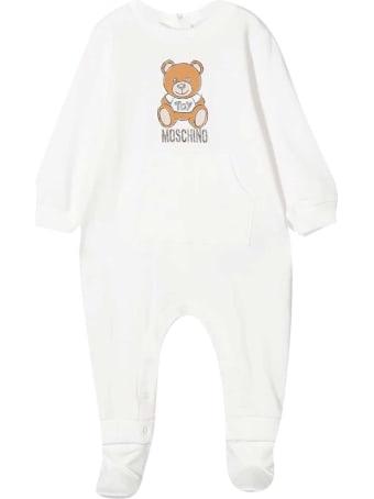 Moschino White Jumpsuit