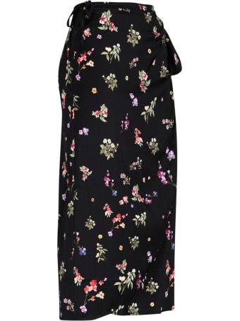 Andamane Floral Wrap Skirt