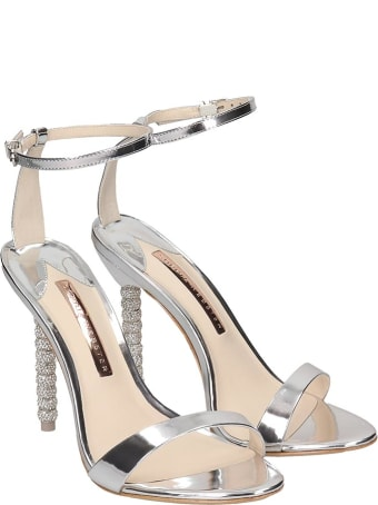 Sophia Webster Haley Sandals In Silver Leather