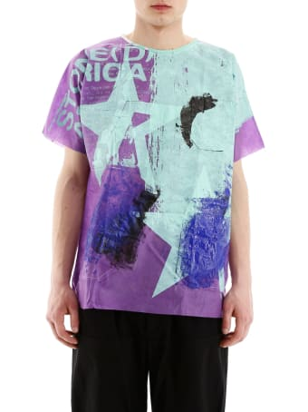 Raf Simons Handpainted Hospital T-shirt