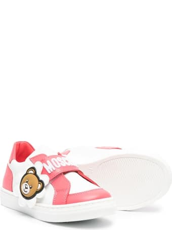 Moschino Sneakers With Bear